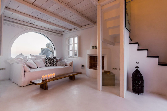 Amberlair Crowdsourced Crowdfunded Boutique Hotel Aenaon Villas Bedroom Santorini Mood Board