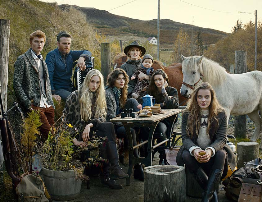 Fashion picture of Famers Market in Iceland