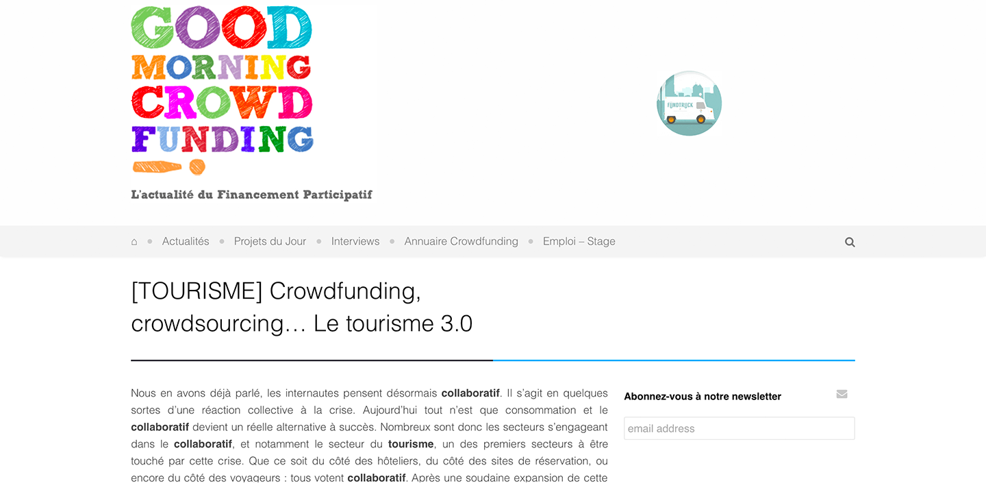 Amberlair Crowdsourced Crowdfunded Boutique Hotel Good morning crowdfunding