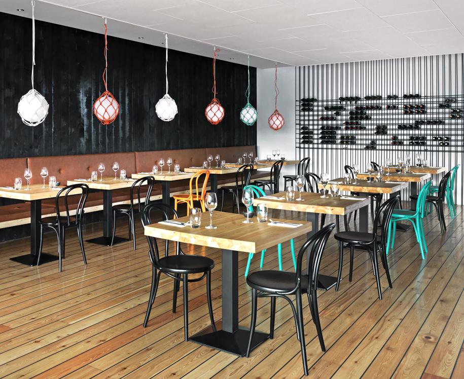 Amberlair crowdsourced crowdfunded boutique hotel - MAR restaurant in Reykjavik, Iceland.