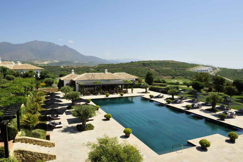 Finca Cortesin, in the South of Spain is one of Mrs. O Around the World's favourite hotels.