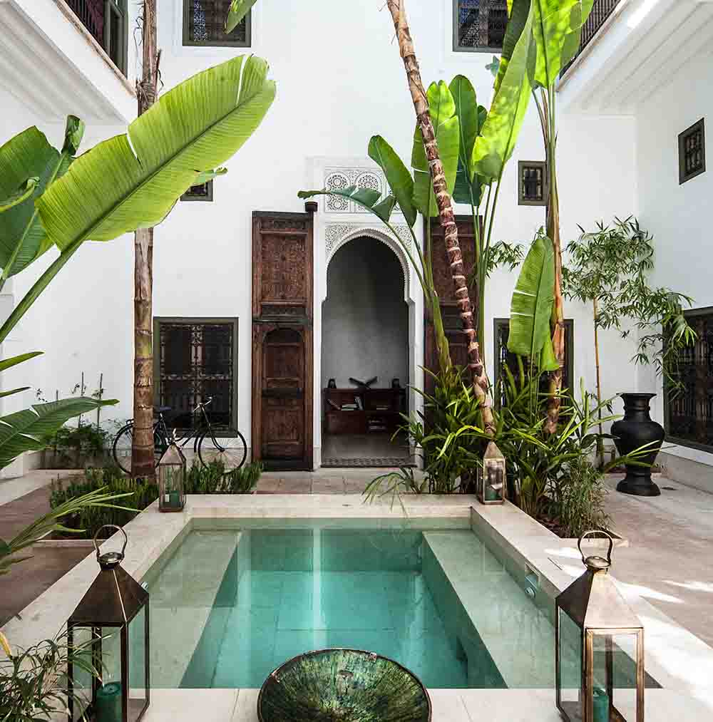 These 10 stylish riads are marrakech 39 s best boutique for Hotel design marrakech