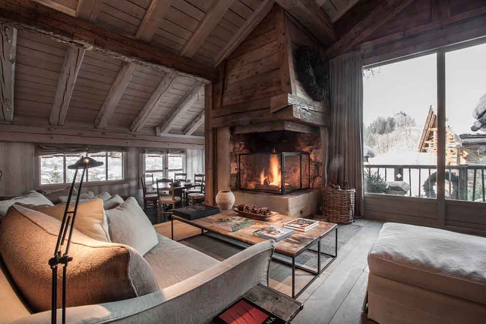 14 fantastic winter retreats in the alps for boutique hotel lovers amberlair. Black Bedroom Furniture Sets. Home Design Ideas