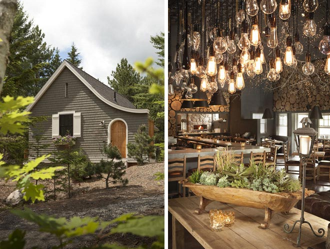 Amberlair crowdsourced boutique hotel - Hidden Pond in Kennebunkport, Maine #boholover Compass + Twine