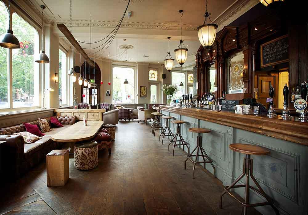 Brook Green Pub - boho pubs