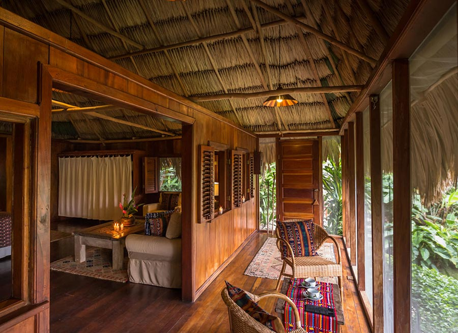 Amberlair Crowdsourced Crowdfunded Boutique Hotel Blancaneaux Lodge - BoutiquEco: The world's finest 15 green retreats