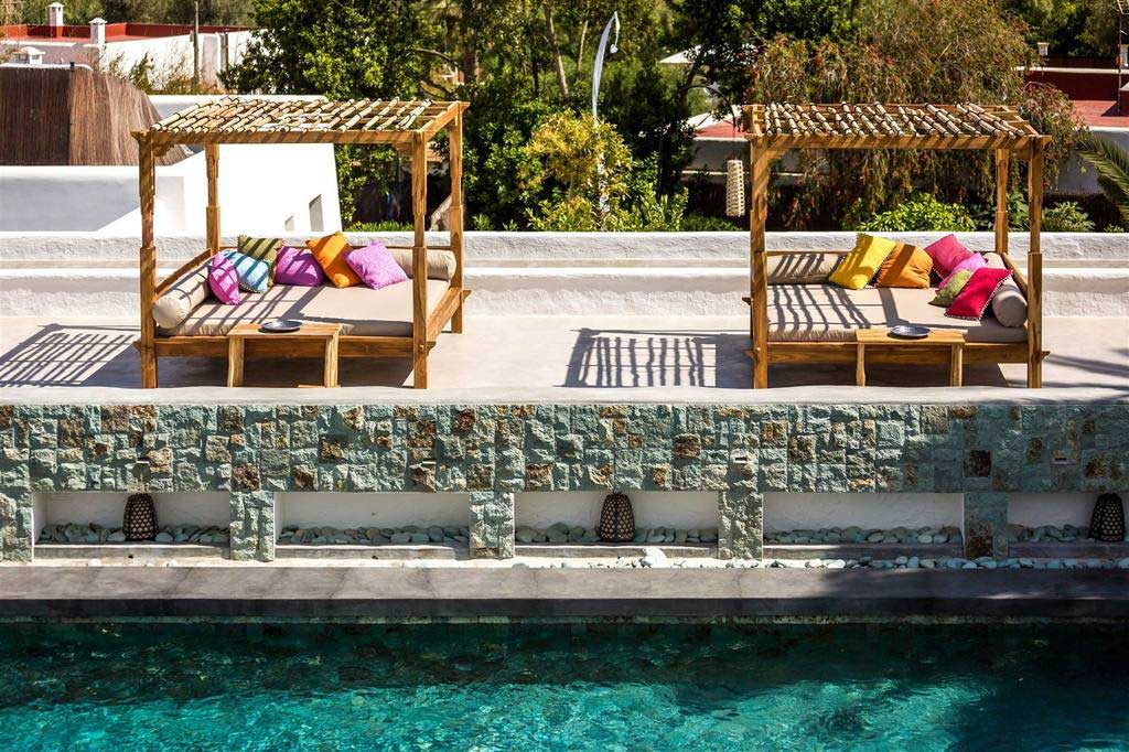 16 exotic hideaways where gypsetters escape the 9 5 for Boutique hotel ibiza