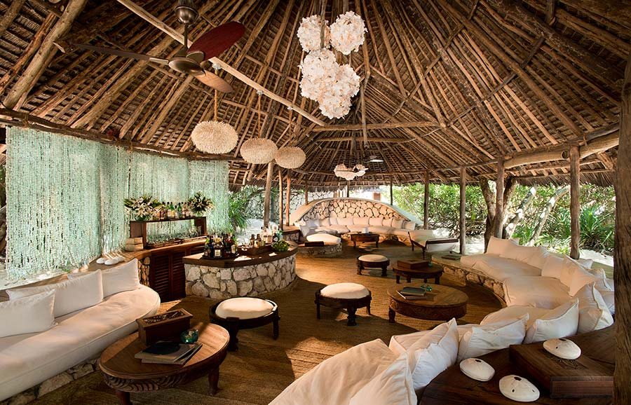 Amberlair Crowdsourced Crowdfunded Boutique Hotel Mnemba Island Zanzibar - BoutiquEco: The world's finest 15 green retreats